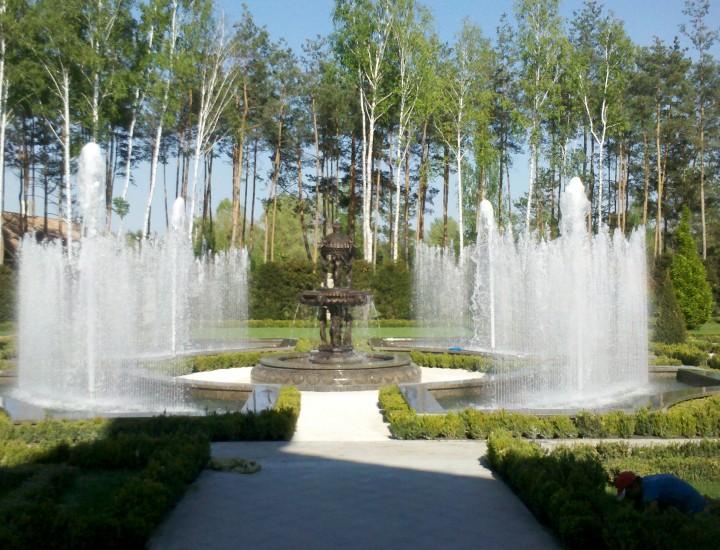 ключи 2 — светомузыкальный фонтан