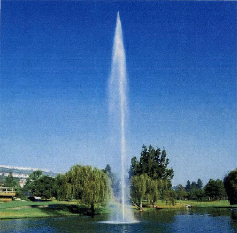 Статический фонтан