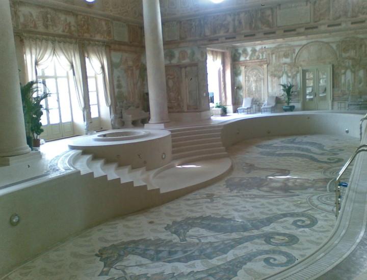 элитный vip бассейн -дом отдыха