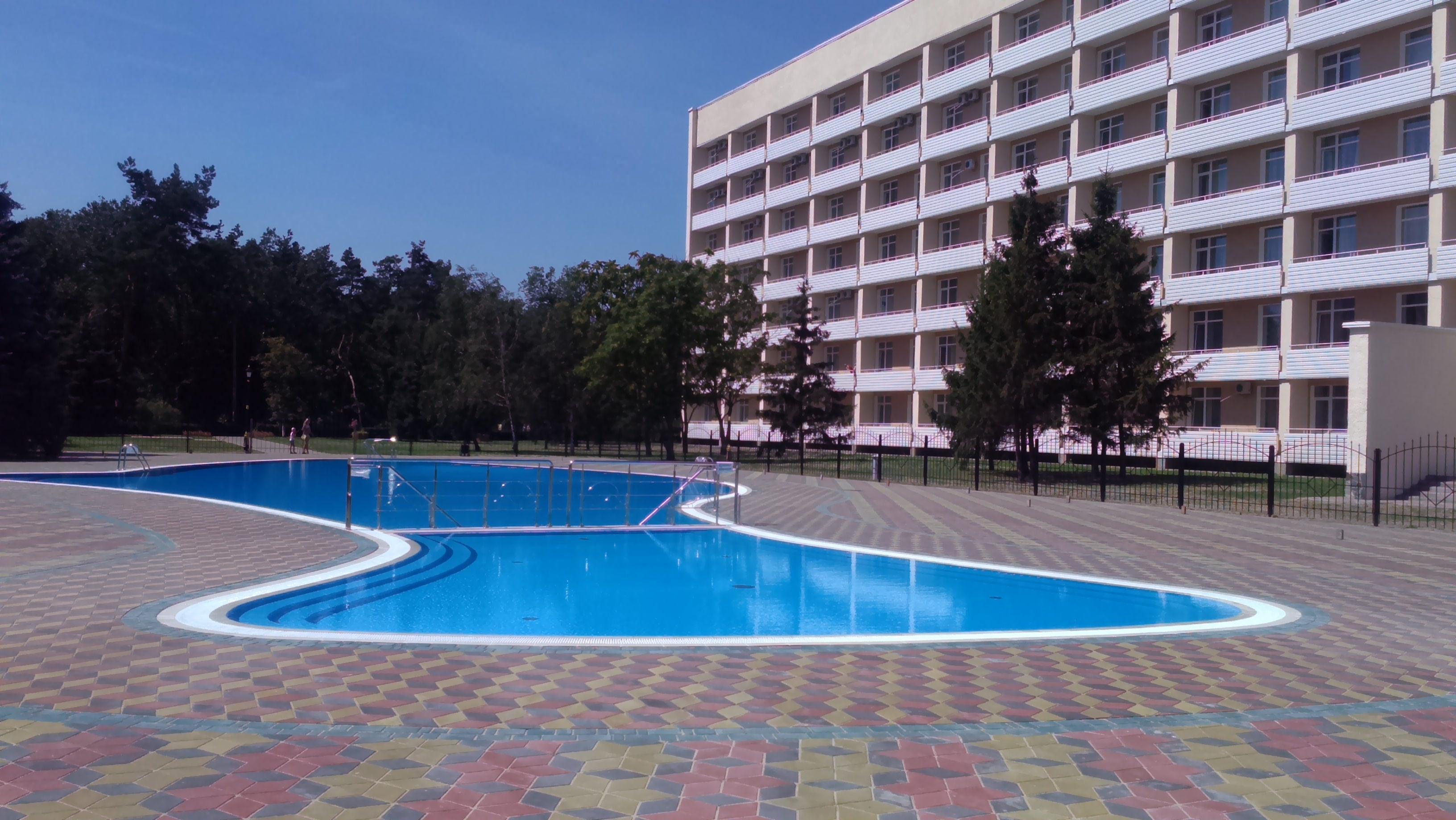 курорт миргород - vip бассейн